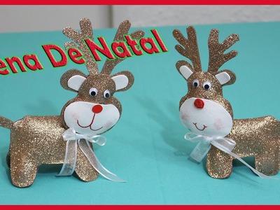 Rena De Natal para decorar a casa, DIY,