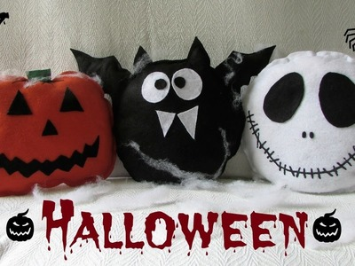 Almofadas de halloween | Diy