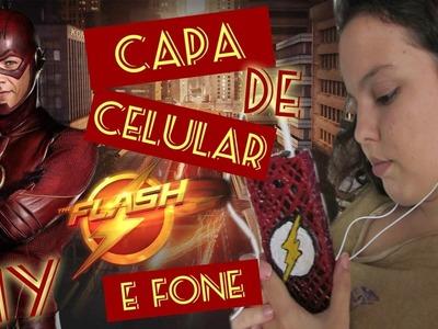 Capinha de Celular do Flash :: DIY :: com cola quente