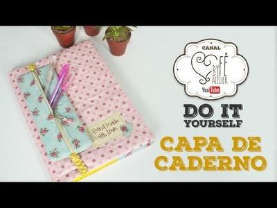 DIY::: Capa de Caderno - By Fê Atelier