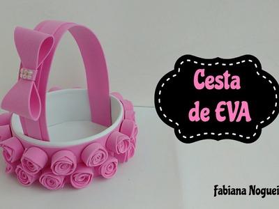 Diy - Cesta Feita com Papelão e EVA