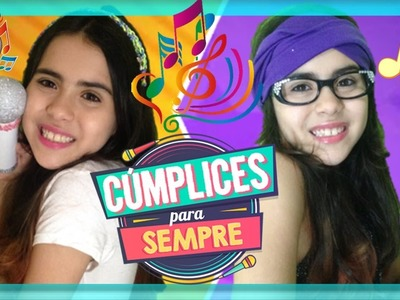 DIY: Microfone CUMPLICES DE UM RESGATE (C1R) como fazer! Lembrancinha Festa! ISABELA e MANUELA !