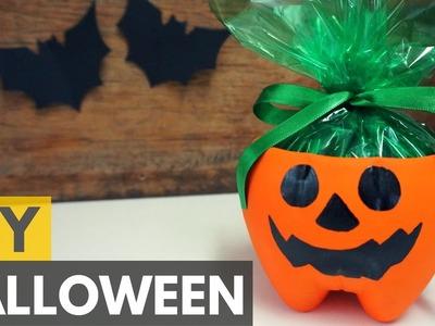 Lembrancinha de Halloween (com garrafa pet)|DIY - Faça você mesmo