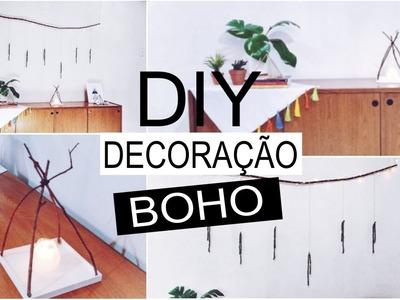 6 DIY Decoração Boho ft. Bonitezas por Bárbara Deschamps