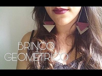 DIY: Brinco geométrico