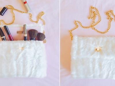 DIY Como Fazer Bolsa SEM Costura | Nanny Ribeiro