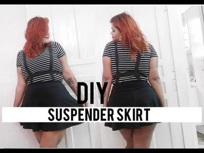 DIY: Suspender skirt
