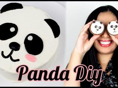 Bolo Panda | Como Decorar um Bolo Panda | Cupcakes de Panda | Panda DIY | Cakepedia