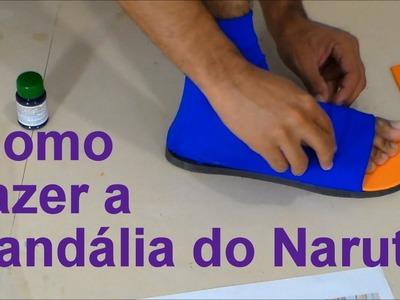 Como fazer a sandália ninja do Naruto para o seu Cosplay - Dicas de Cosmaker