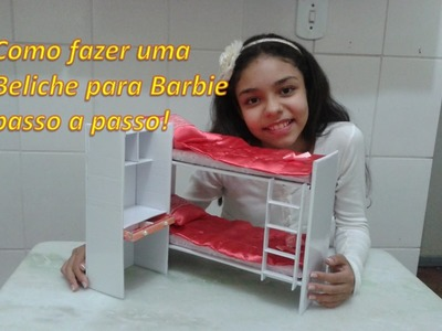 Como fazer Beliche para Barbie, passo a passo