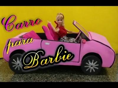 Como fazer carro para Barbie,Monster High e Ever After High