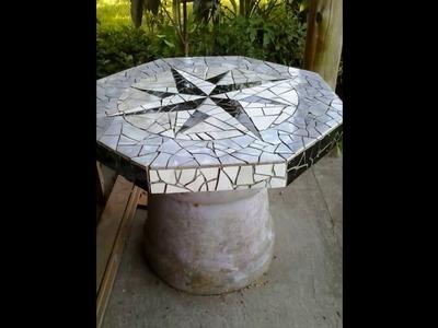 Mesa de Jardim - Mosaico