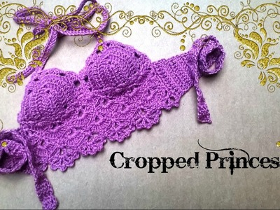 Cropped Princesa 03 a 06 meses