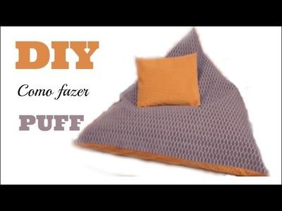 DIY | Como fazer.costurar um puff FÁCIL e RÁPIDO