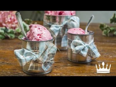 SORVETE NA LATINHA (DIY) | Cozinha do Bom Gosto | Gabi Rossi
