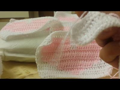 Almofada com coraçao em croche