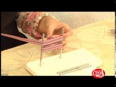 Aprenda a usar a maquina de laços-  Laço facil