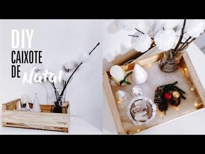 DIY | Caixote de Natal | Estilo Pinterest #ProjetodeNatal