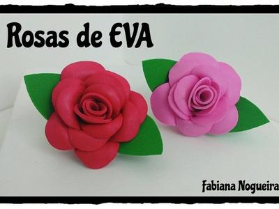 Diy - Como Fazer Rosas de EVA