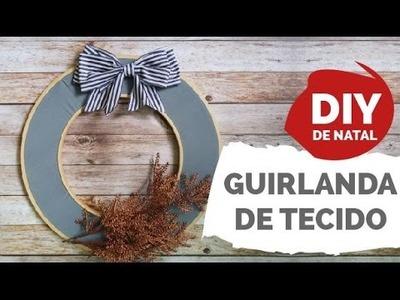 DIY DE NATAL #2 | Guirlanda com bastidores super fácil  | Por GavetaMix
