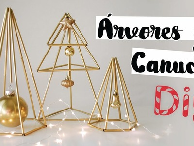 DIY: Decoração de Natal com Canudos! Por Isabelle Verona