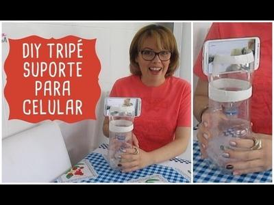 DIY - Tripé.Suporte para Celular