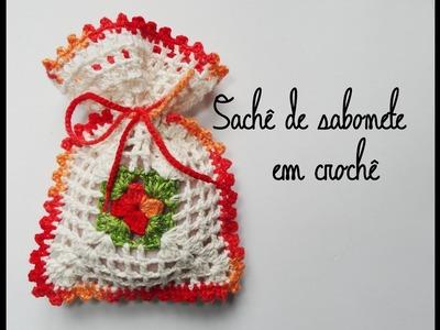 Sachê de Sabonete em Crochê | Manyélly