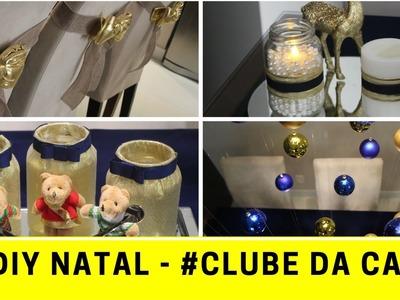 5 Idéias DIY de Natal - Mesa Posta - Natal Colorido #clubedacasa