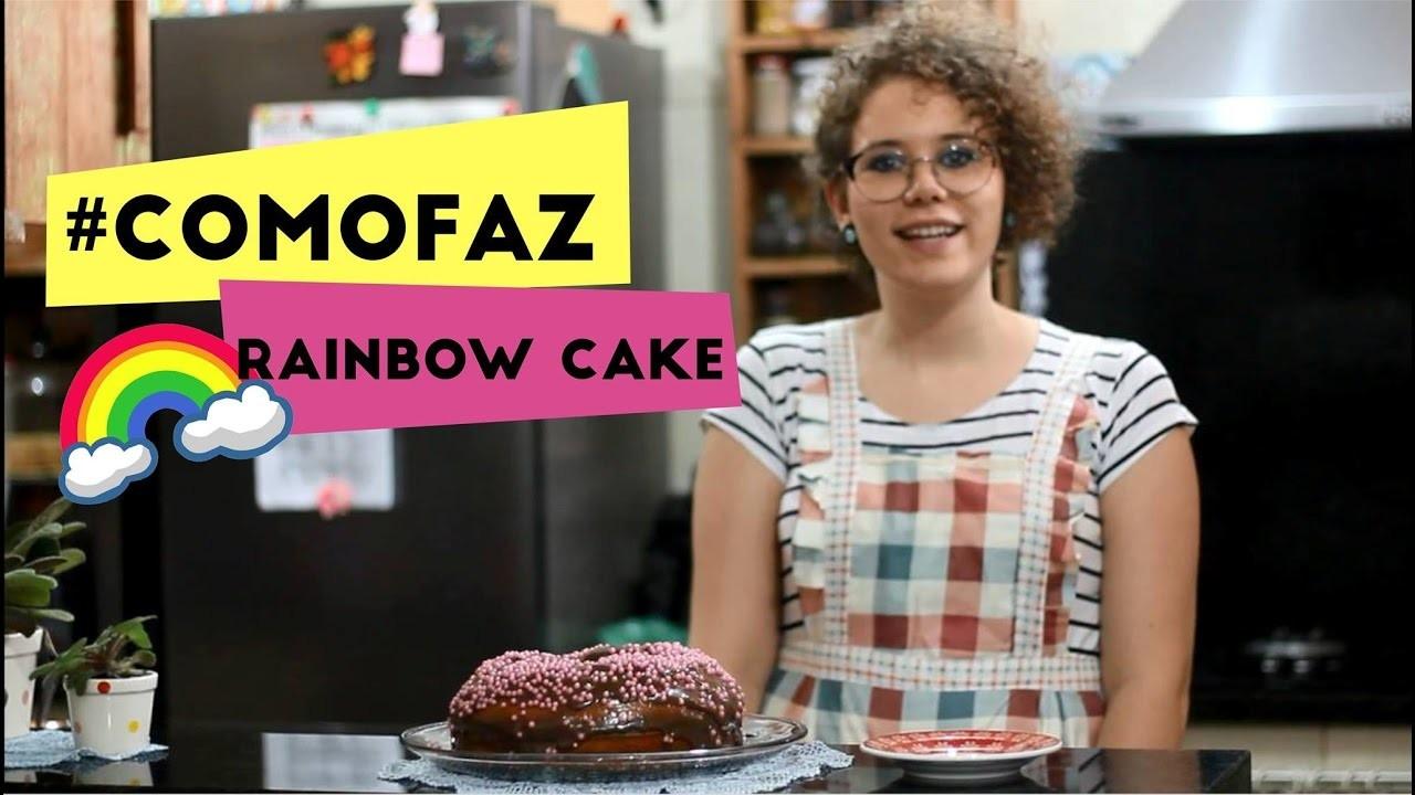 #COMOFAZ - RAINBOW CAKE