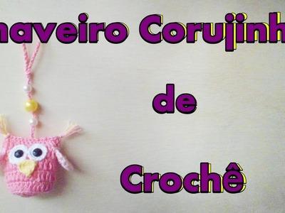 DIY - Chaveiro de Crochê Corujinha