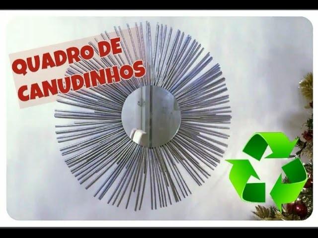 DIY COMO FAZER QUADRO DECORATIVO PARA SEU HOME OFFICE