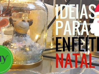 DIY DE NATAL- 5 IDEIAS PARA ENFEITES BARATOS E FACEIS