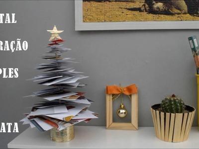 DIY: Decoração simples e barata para o Natal | Dicas