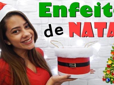 DIY - Enfeite de Natal #1
