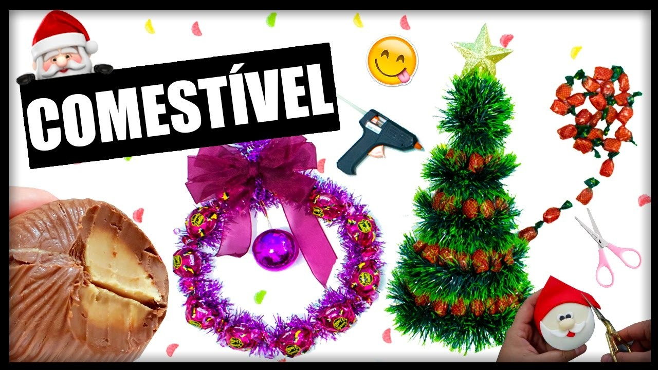 DIY Especial Natal #3: DECORAÇÃO COMESTÍVEL