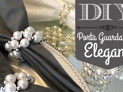 DIY | Porta guardanapo para casamentos clássicos e festas elegantes!