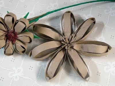 Flor de Rolinho de Papel Higiênico #6