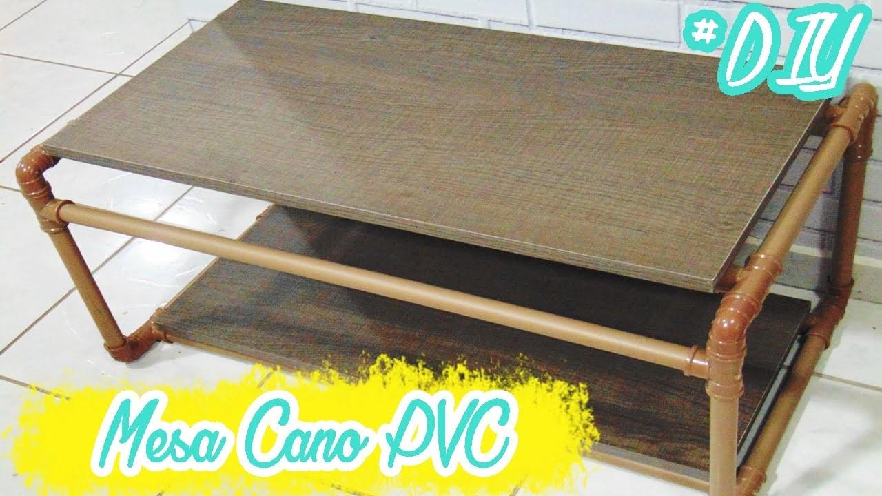 MESA DE CANO PVC (DIY) | Ally Arruda