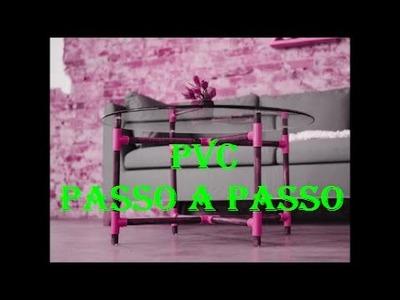 Mesa Redonda - PVC PASSO A PASSO.