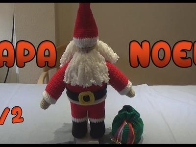 Papa Noel Amigurumi a crochet | Parte 1.2