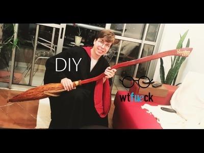 WTFueCK - DIY.Tutorial  ♥ Nimbus 2000 ♥ + Anuncio sorteio HP