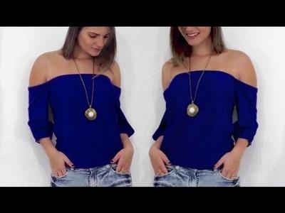 Blusa Ciganinha | Faça suas próprias roupas