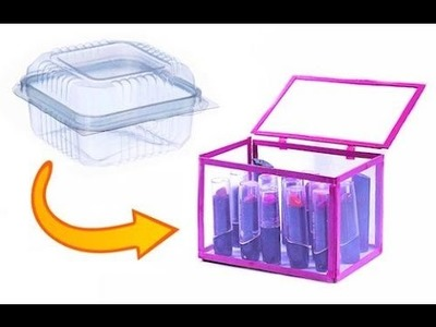 DIY - Caixa Organizadora Reciclada