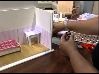 Mulher.com 29.11.2012 Cristy Rego - Miniatura de quartinho de menina 2.2