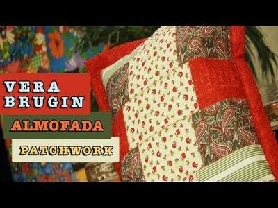 Almofada em Patchwork - Vera Brugin