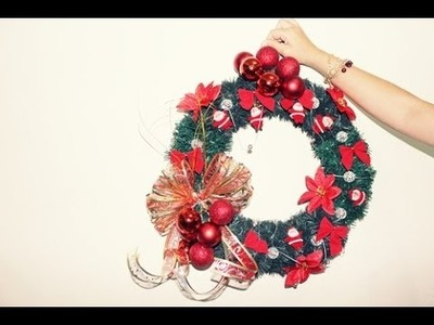 Brincando de Fazer Arte:Guirlanda  -Especial Natal-