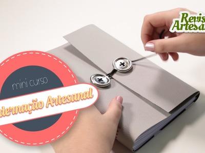 Mini Curso - Encadernação Artesanal - Aula 4