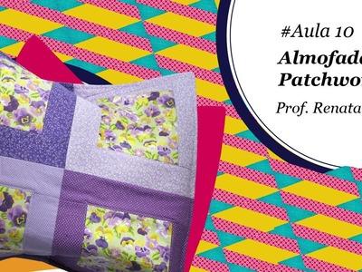 Patch & Arte com Lanmax - #aula10 - Almofada de blocos de patchwork