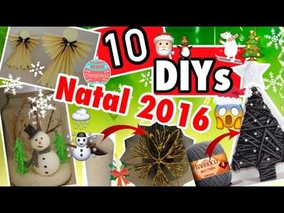 10 DIY,S INCRÍVEIS PARA O NATAL | Ft. Jessika Taynara