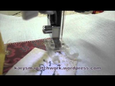 Aula Patchwork [01] - Ponto Caseado